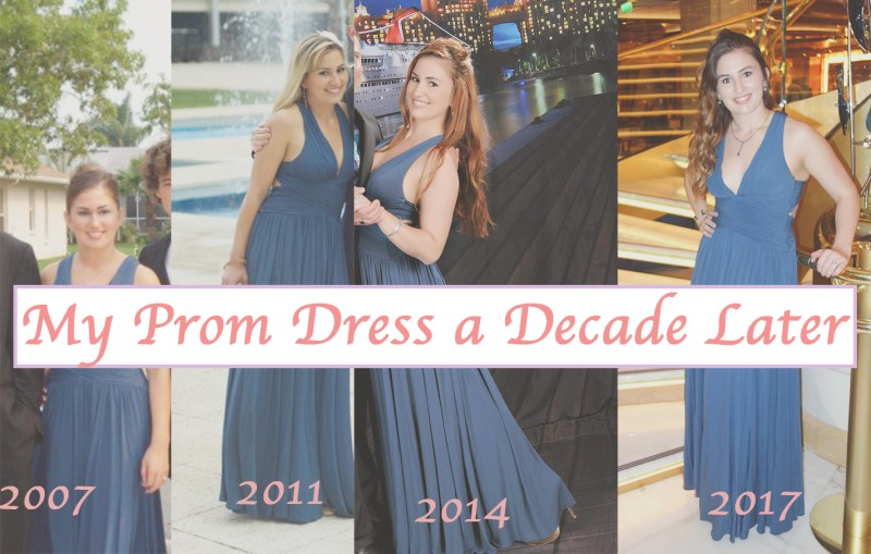 My Prom Dress a Decade Later – the Value of a Classic Gown