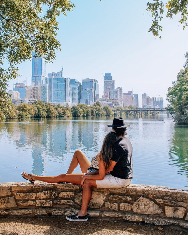 viewpoint at lou neff point in austin texas