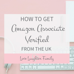 how to get amazon verified from the uk