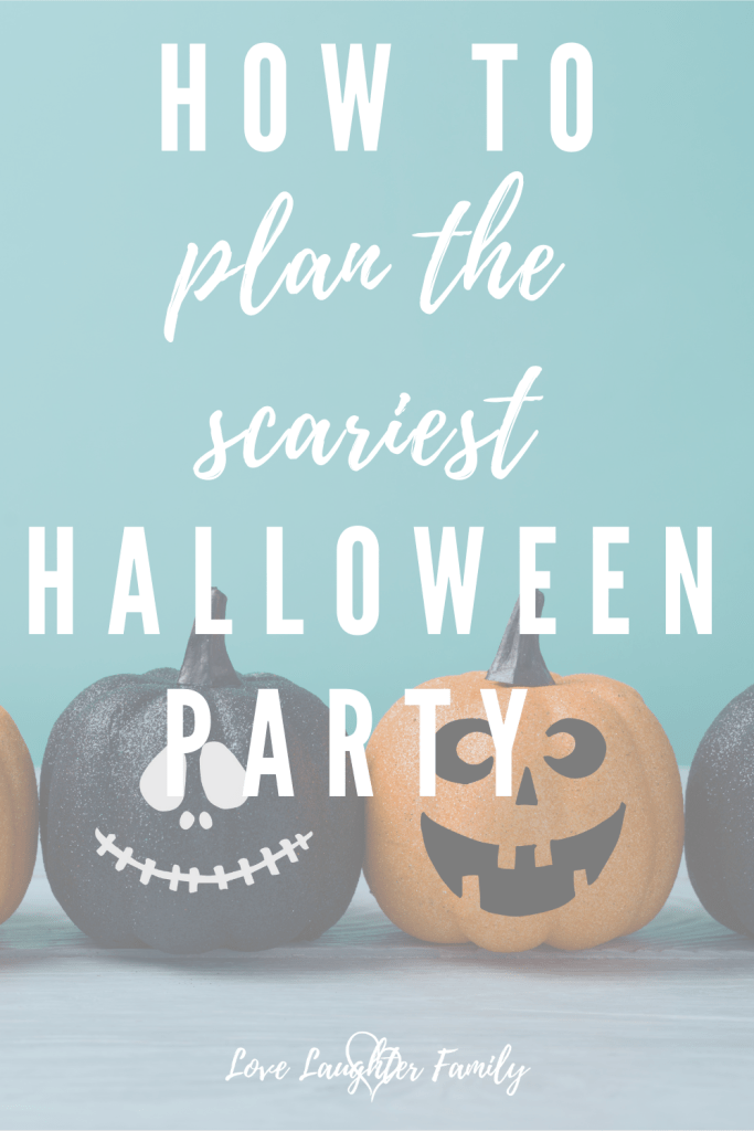 How to plan the perfect halloween party for your kids.
