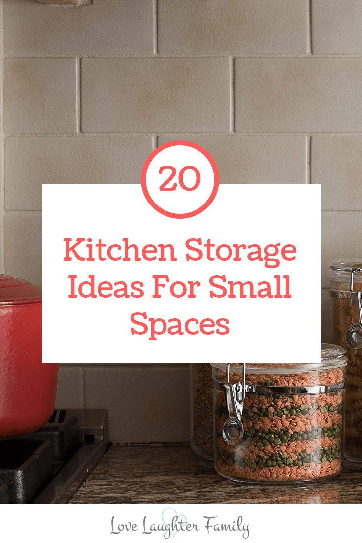 You'll love theses kitchen storage ideas for small spaces. make better use of your kitchen with these clever products.