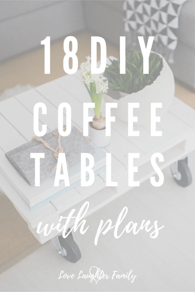 Get your tools out and start building your ver own coffee table. Here we have 18 coffee table plans that are all DIY friendly with plans.