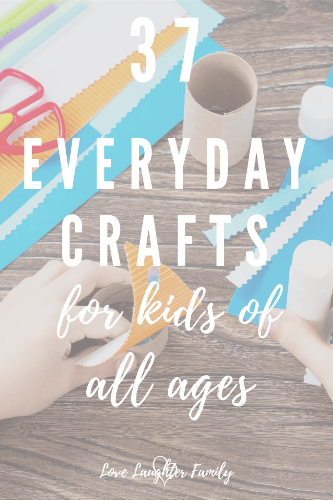 Here are 37 crafts that kids can make at home that are easy and fun.