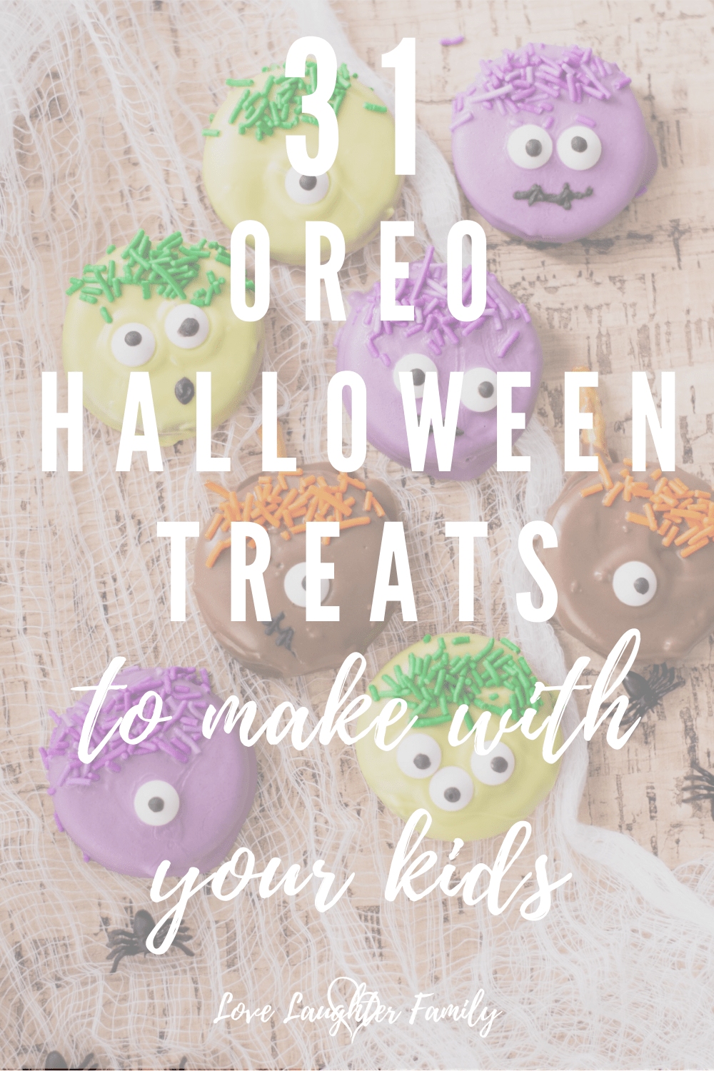 Halloween treats to make with oreos that the kids can make.