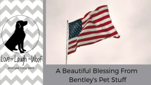 A Beautiful Blessing From Bentley's Pet Stuff