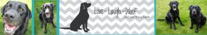 Love Laugh Woof header image