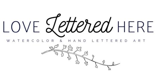 love lettered here logo alt