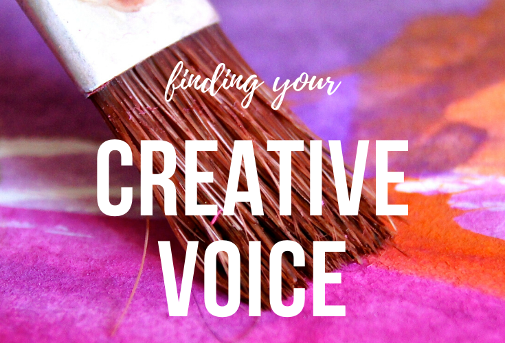 finding your creative voice blog post
