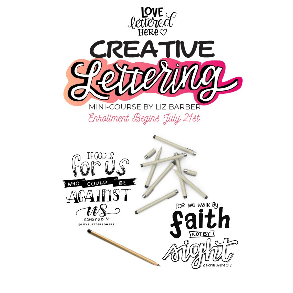 CREATIVE LETTERING COURSE