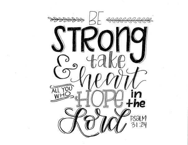 be strong in the lord verse