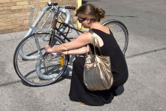 bike, toronto, love lettering project, air mail envelope, poem, lindsay zier-vogel