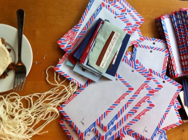 The Love Lettering Project, love, lindsay zier-vogel, envelope, toronto