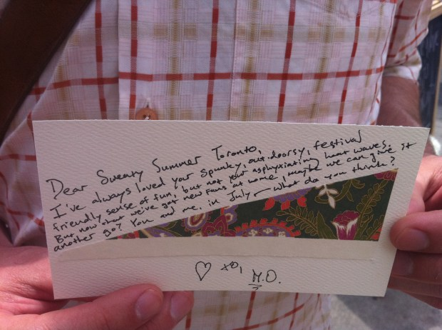 toronto, love lettering project, ps kensington, love, summer