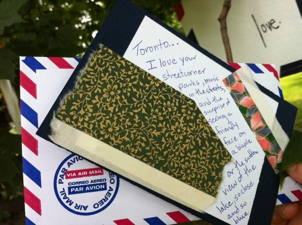 love, love lettering project, dufferin grove park, toronto