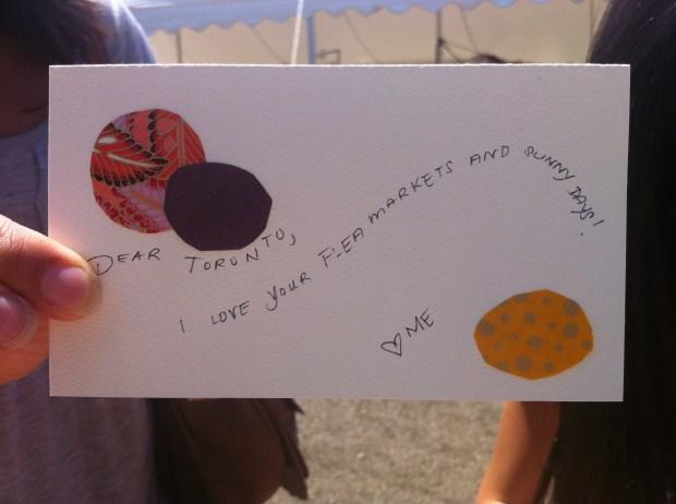 junction, junction flea market, toronto, love, love lettering project, June 10