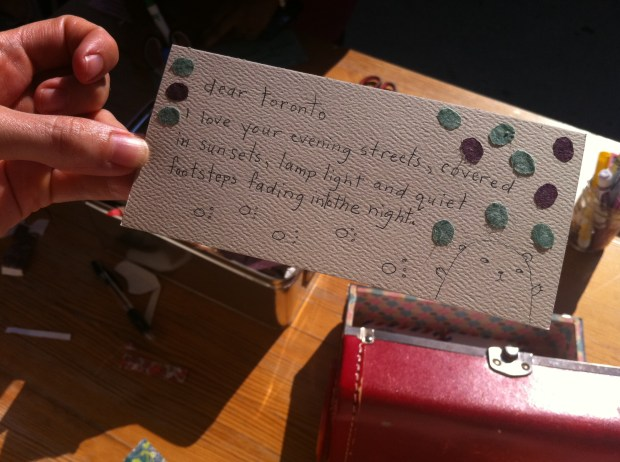 ps kensington, July 29, love, love lettering project, kensington market, toronto