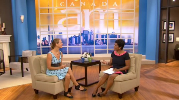 canada am, love lettering project, love, toronto, national television, canada, CTV, lindsay zier-vogel