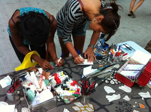 yyzorange, love, love lettering project, celebrate yonge, toronto