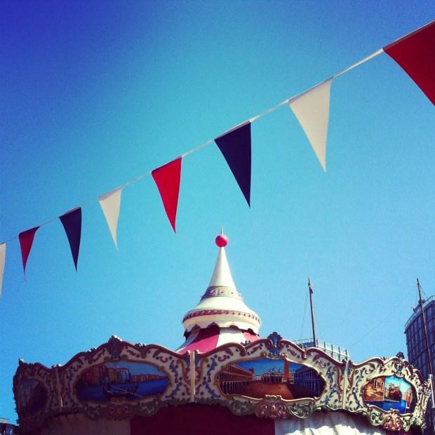 Liverpool's seaside merry-go-round