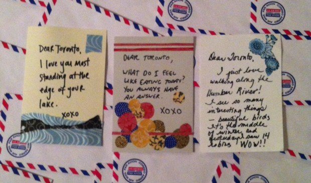 Love letters to Toronto (please note: NOT taken by the incredible Joseph Michael!)