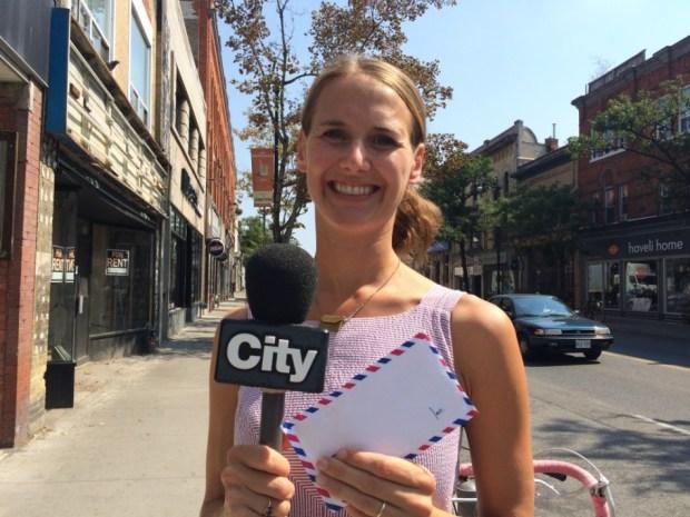 Lindsay Zier-Vogel, love lettering project, CityTV