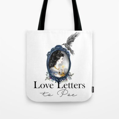 Love Letters to Poe Raven Edition Tote Bag