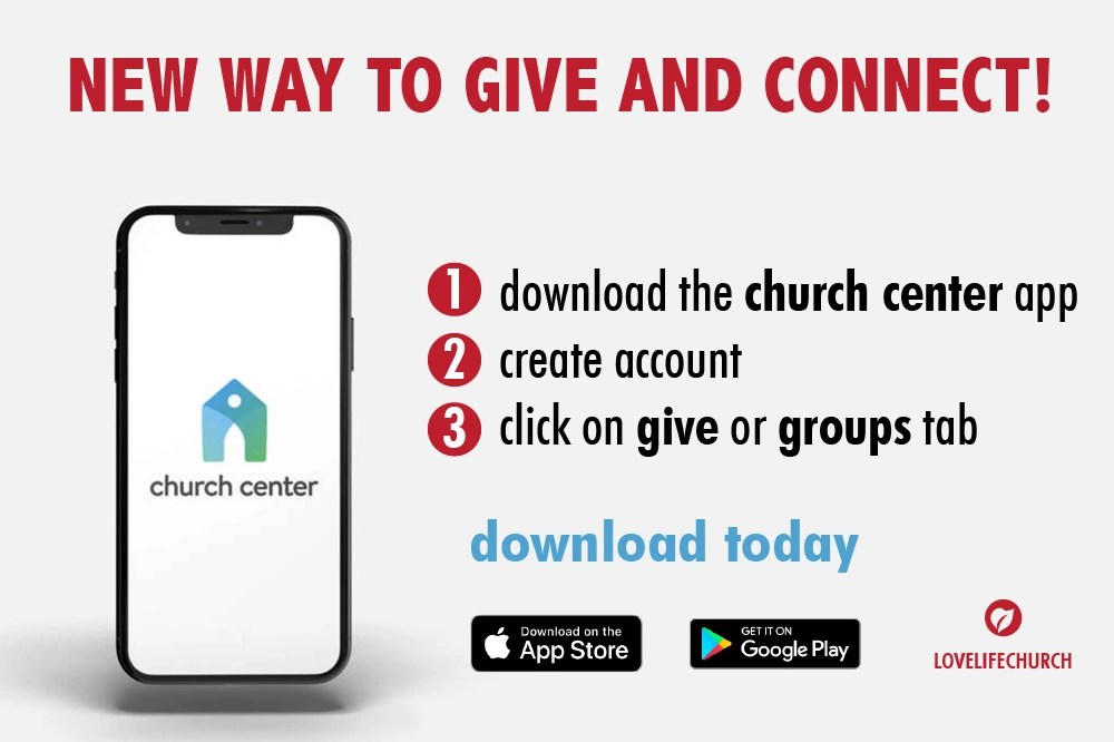 Join a Life Group. Give and track donations. Update contact info. Download today!