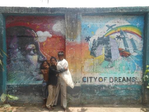 children kids mumbai bombay slums india asia