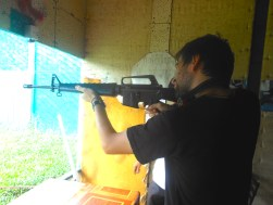 Shooting Range M16 Laos Southeast Asia Travelling Traveling Guns