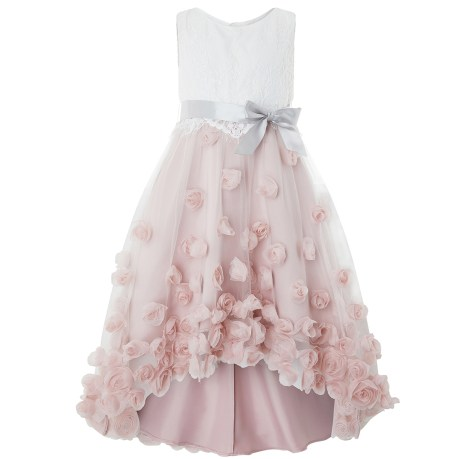 Robe de princesse en dentelle et mousseline, 1095 dhs, Monsoon