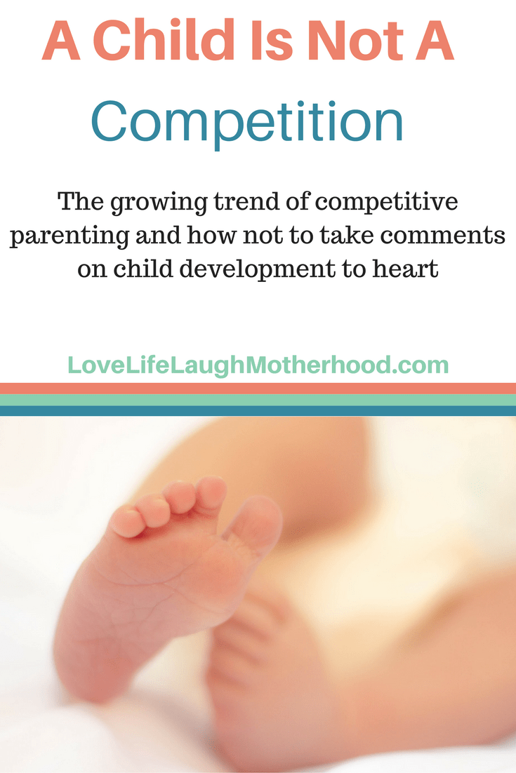 A Child Is Not A Competition