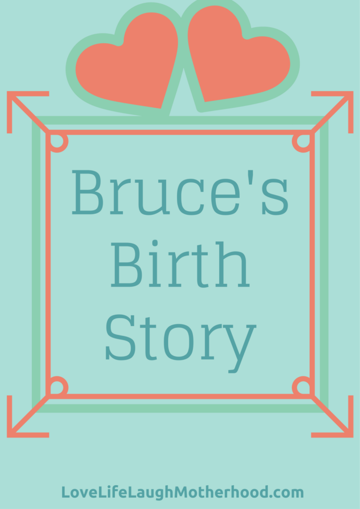The true, and rather uneventful, story of my son's birth