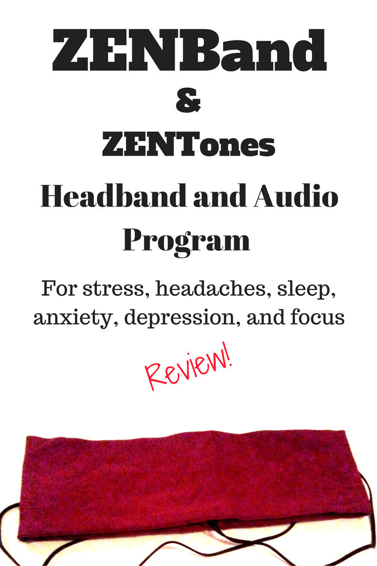 A Review of the ZENBand headband and ZENtone Audio Programs, designed to help with sleep, stress, anxiety, headaches, depression, and more!