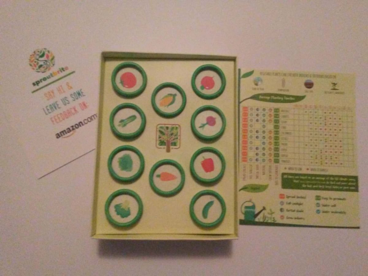 Sproutbrite Heirloom Vegetable Seed Kit Review