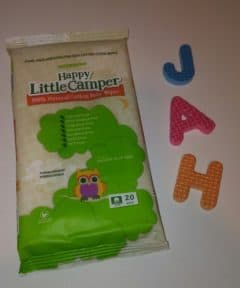 Happy Little Camper Baby Wipes – 100% All Natural