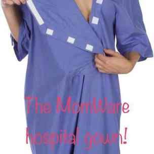 MomWare maternity Gown by DadWare