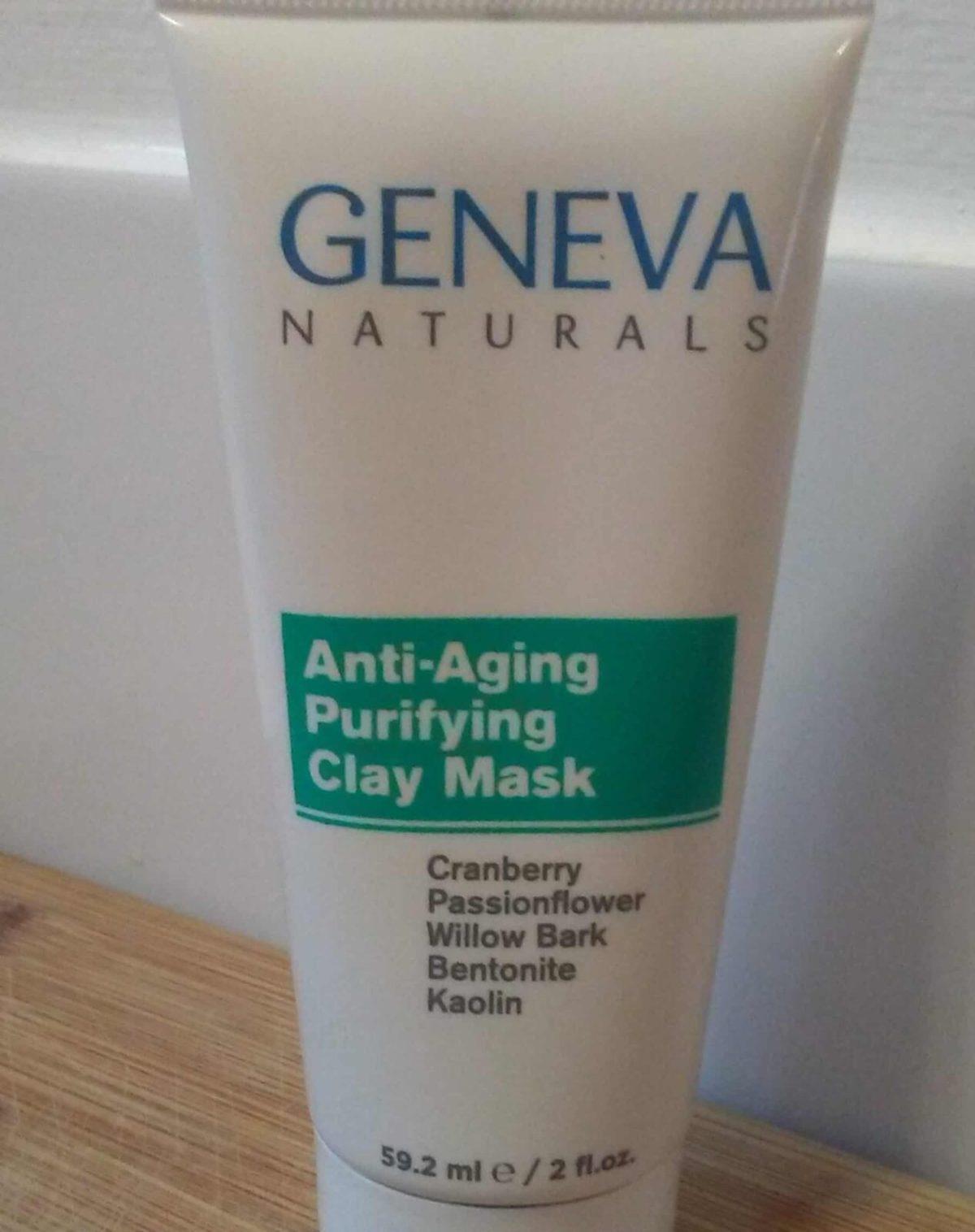 Geneva Naturals Anti-Aging Purifying Clay Mask Review