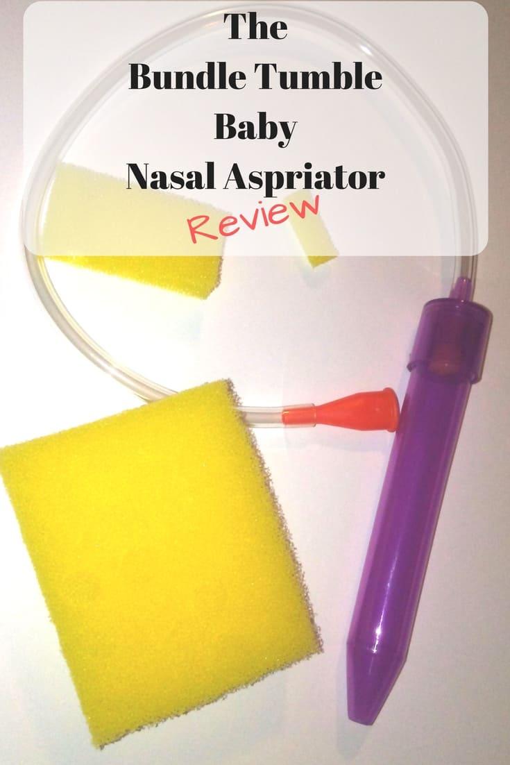 The Bundle Tumble baby nasal aspirator