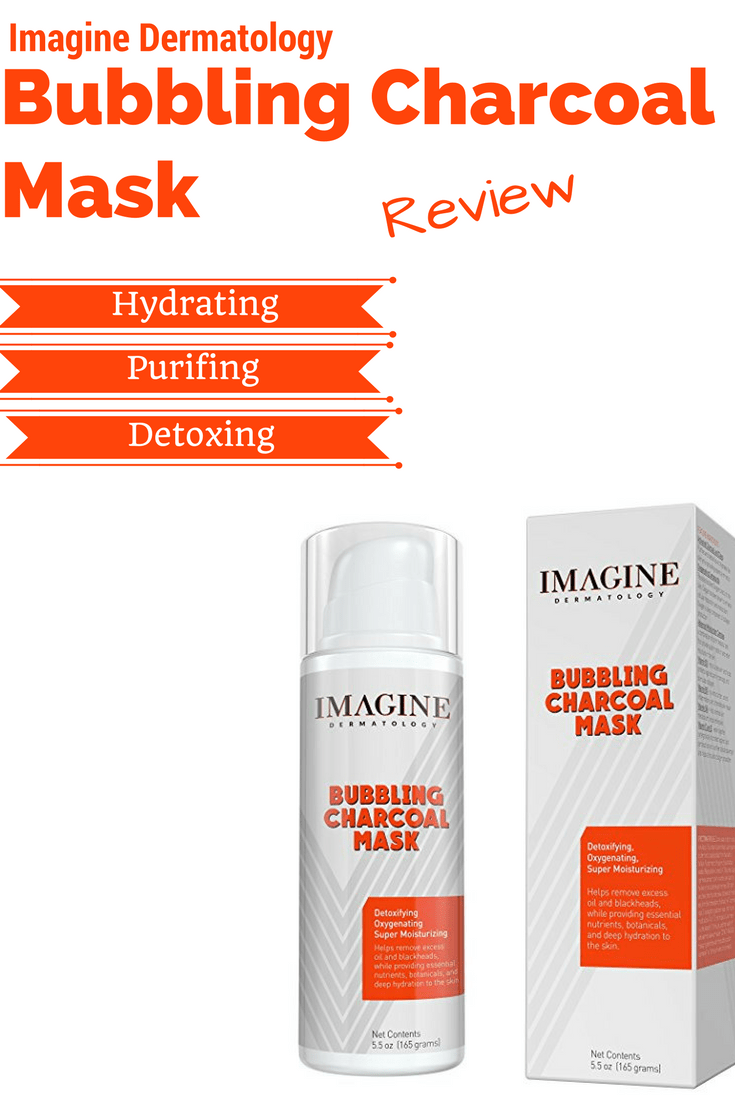 Bubbling Charcoal Mask by Imagine Dermatology