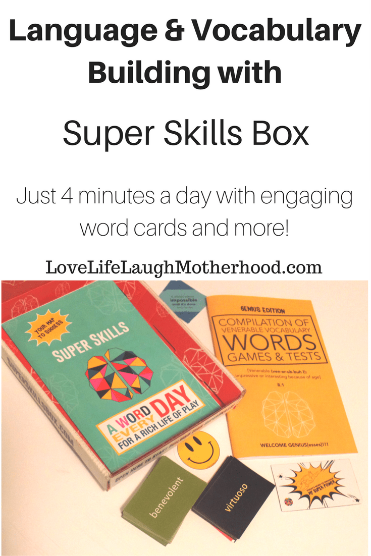 Language & Vocabulary Building with Super Skills Box