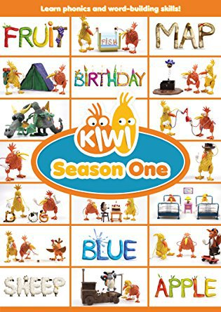 Learning Phonics Skills with the Kiwi: Season One DVD