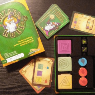 Wizard Roll Educational Family Board Game