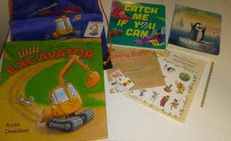 Reading Bug Box Children's Book