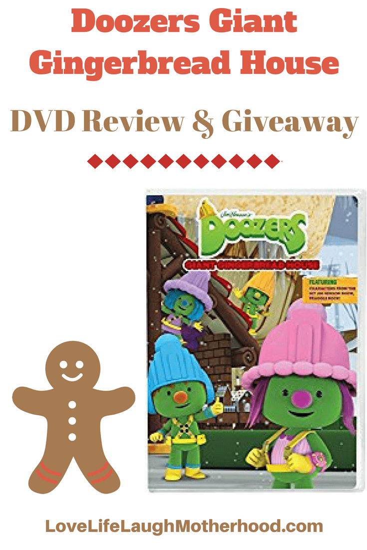 Doozers Giant Gingerbread House DVD Review #doozers #jimhenson #childrensdvd