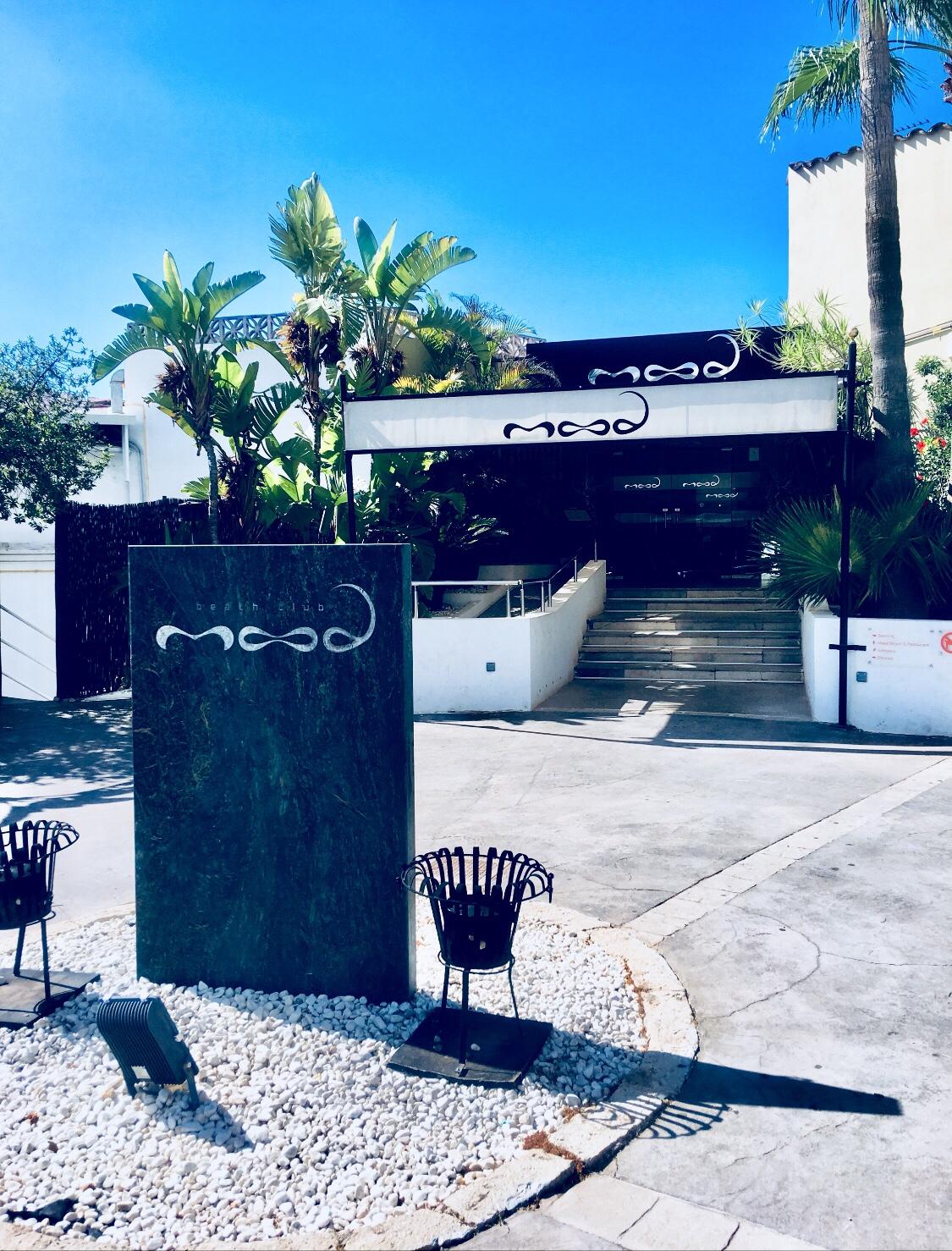 The lavish mood beach club in Mallorca