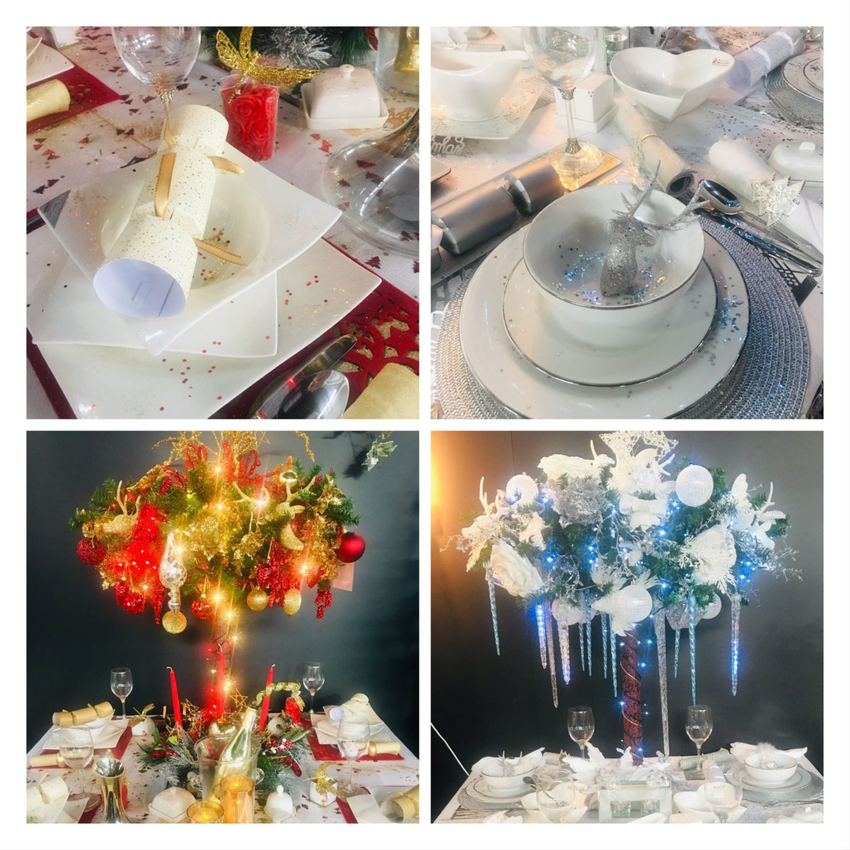 Choosing Your Christmas Colours - Christmas Table Ideas