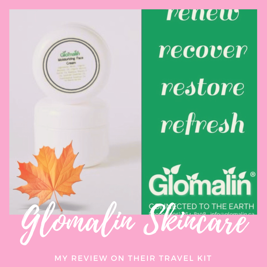I'll start by telling you about Glomalin - Organic & Natural Skincare.