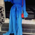 BLUE JUMPSUIT FROM JOYSHOEIQUE