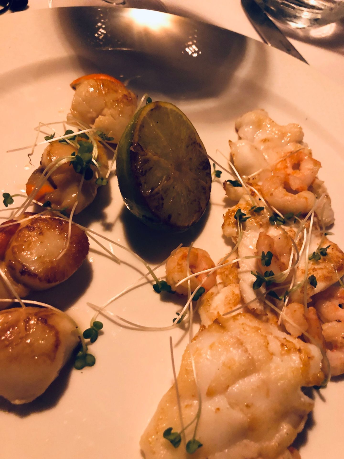 Dinner at Felix Warley - Brentwood - MAINS