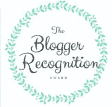 Love, Life & the little-one receives the Blogger Recognition Award